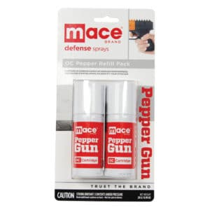 Mace pepper gun OC refill front package view