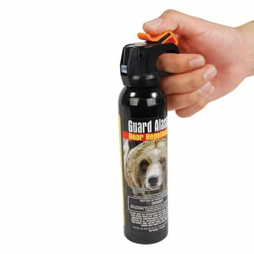 9 oz Guard Alaska Bear Spray hand held view