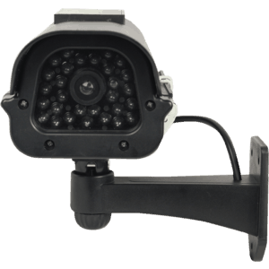Black dummy home security camera front view