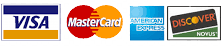 Accepted Credit Card Payments
