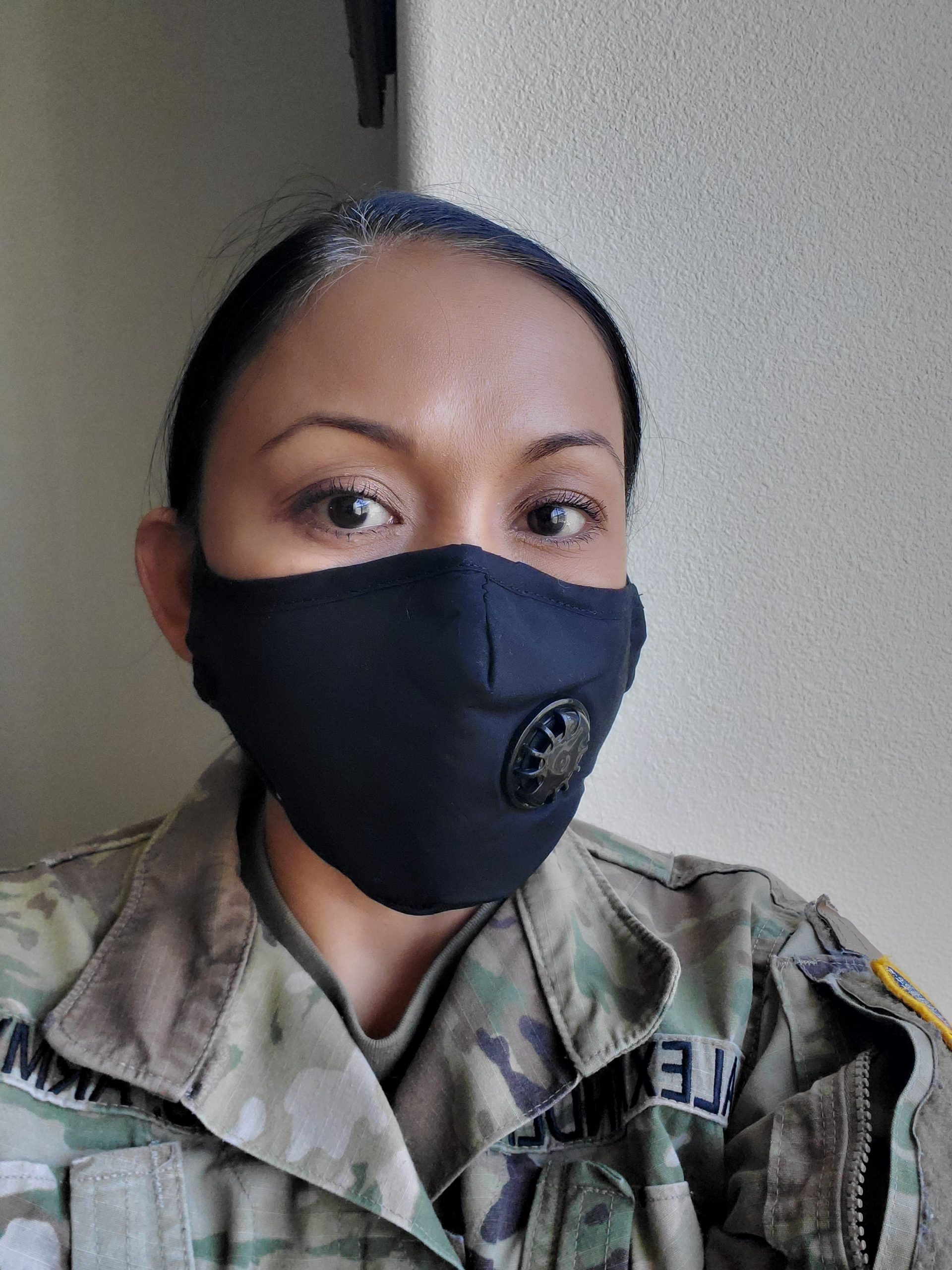 Dust Filter Masks Black Military Army