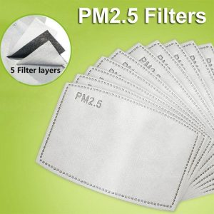 PM 2.5 charcoal replacement dust allergy filter